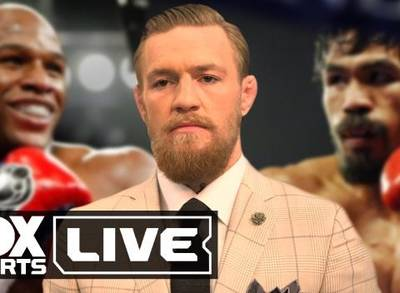 News video: Conor McGregor Makes His Mayweather - Pacquiao Fight Prediction